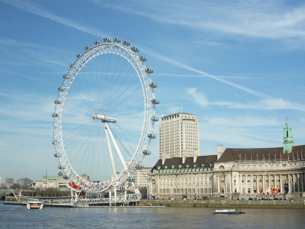 London Eye - topp tio London