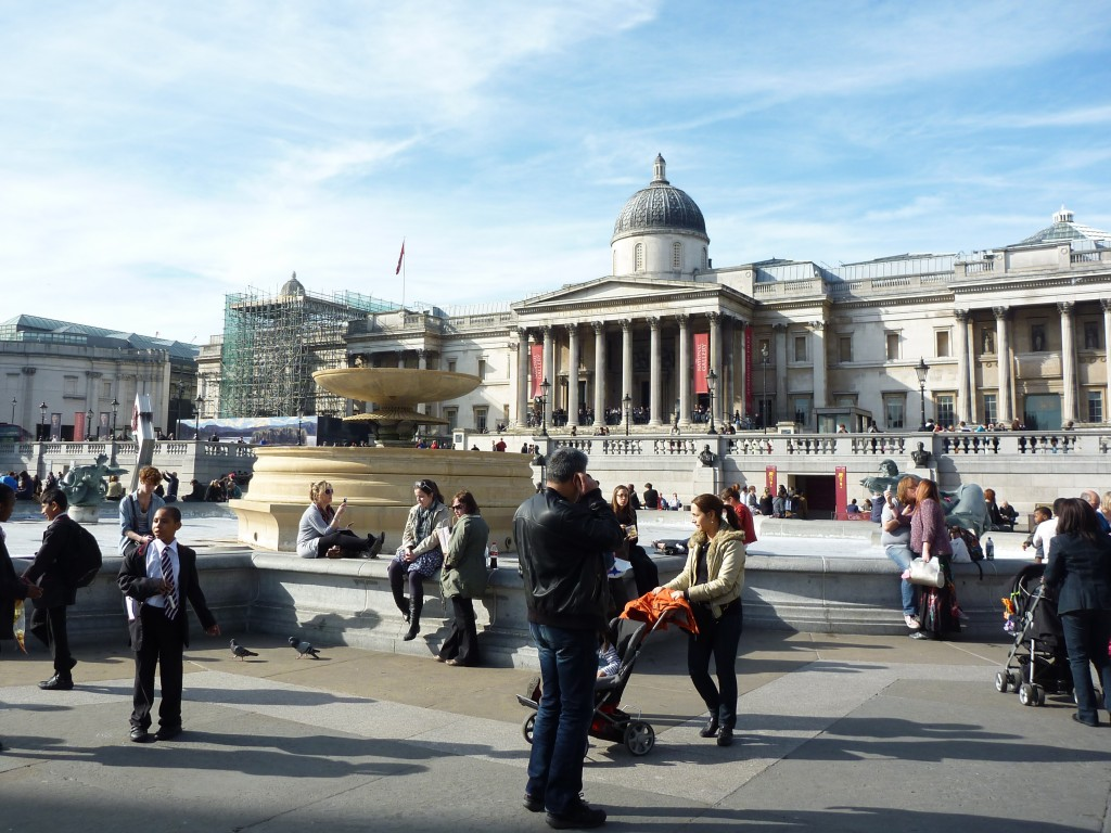 Trafalgar Square - topp tio London